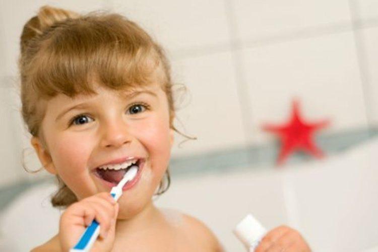Child Brushing Baby Teeth - Superior Smiles